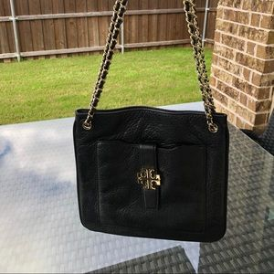 Authentic Tory Burch Leather Crossbody Purse